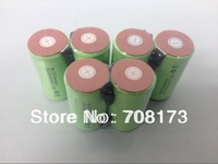 Free shipping   50pcs/lot 10C discharge rate 2400mAh  SubC   SC NICD NI-CD   battery with solder tags