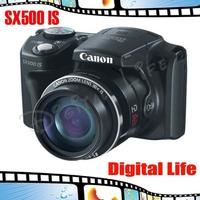 Canon PowerShot SX500 IS 16.0 MP HD 30x Zoom Digital  Black Camera
