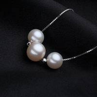 2014 New Brand Calla&Dog Designer Natural 100% Freshwater Pearls Romantic Luxury Necklace AAAAA#PN034