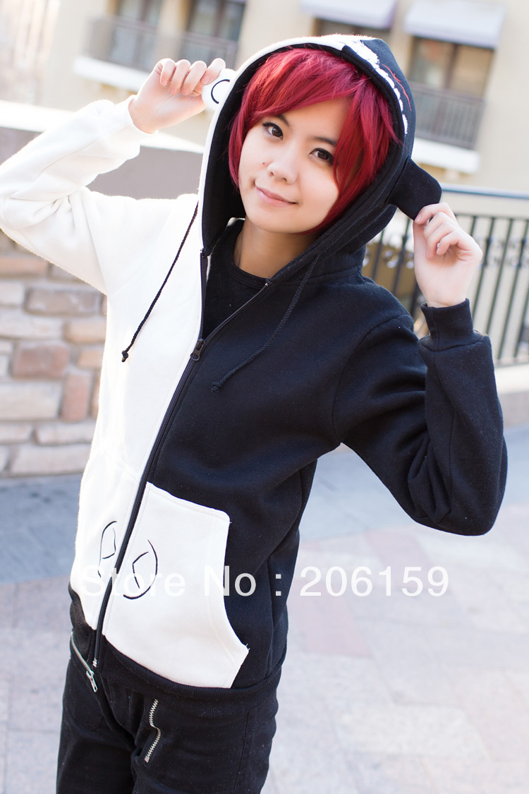 Dangan Ronpa Monobear Plush Fashion-unisex-outwear-dangan- ...