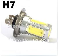 Free Shipping 2pcs Car H7 Low Beam Light Bulbs PX26D Halogen Xenon Super White 3528 6000K 12V 7.5 W  Fog Lamp