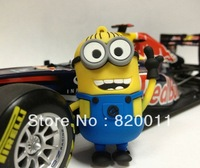 Wholesale!!Cartoon New Minions Despicable Me 2,  8GB/16GB/32GB/64GB  USB 2.0 Flash Memory Stick Drive U Disk,  free shipping!!
