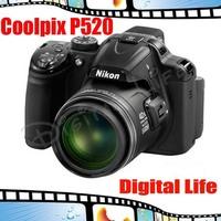 Nikon Coolpix P520 Compact Digital Camera 18.1MP 42x Optical Zoom
