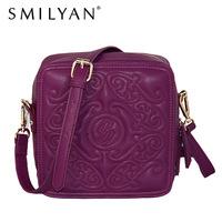 SMILYAN new 2014 fashion vintage women PU leather handbags women cross body bags shoulder bags lady pu leather handbags