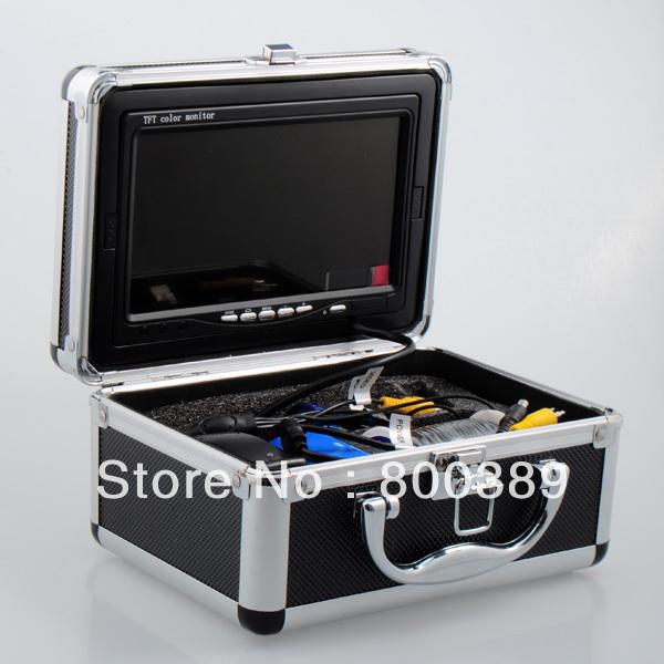 "7"" TFT LCD Fishing Camera Kit Fish Finder HD 600TVL CCD Sensor Underwater Video Camera System With Night Vision Free Shipping(China (Mainland))"