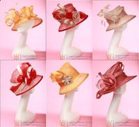 Free EMS Shipping Elegant Women's Hat Sinamay Hat  6 Pieces/Lot Bulk Wholesale Price