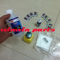 2014 hot sale !!! 1 pc 250ml uv glue remove + 1pc 37g debonder + 10pc blades + 1pc press style bottle + 1 bag clean cloth