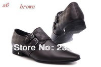 2014 new fashionable man leisure business leather shoes