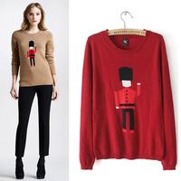Kimi hot-selling women's robot lilliputian sweater