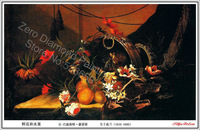 Wholesale retail DIY diamond painting  kit Inlaid famous painting series Picasso DPF14263 Size:100X60cm Free Shipping