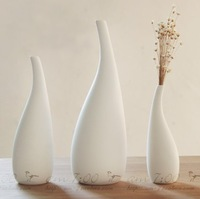 Nordic brief white vase decoration bottle modern home decoration home decor