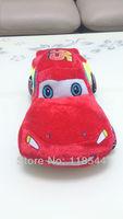"17.8"" 45cm plush car toy F5 mc queen car boy's gifts kids doll plush car one piece  free shipping"