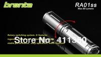 wholesale freeshipping  3 piece/lot Super Mini bronte RA01SS CREE R5 80 Lumen LED Flashlight torch
