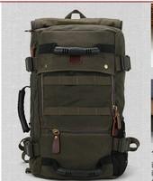 Canvas handbag male large capacity 2014 new drum travel mountaineering bag