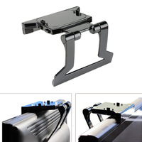 Free Shipping 2015 Hot Sale TV Clip Clamp Mount Mounting Stand Holder for Microsoft Xbox 360 Kinect Sensor Stand #EE45 Tonsee