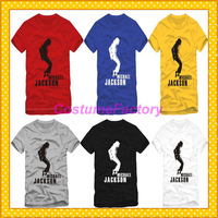 Free Shipping O-Neck Michael Jackson MJ Cosplay Fashion Cotton Tshirt,0.6kg/pc