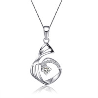 S925 silver series of pure silver necklace fashion silver pendants gift