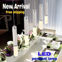 Led pendant light modern brief individuality bar counter lighting  10 lights