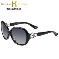 Helen keller 2013 female big box polarized sunglasses driving glasses mirror sunglasses h1316ca