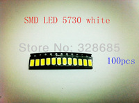 SMD LED 5730 white/warm white  40-45LM  Super bright   LED strip Special lamp beads  Lighting accessories    100pcs