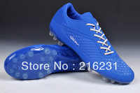 2014 New design men's  HyperVenomr soccer cleats Nubuck Leather AG  boots indoor football shoes 10 colors in stock  size 39-45