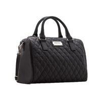 free shipping new 2014  fashion designers vintage Women leather handbags small rivet bucket bowling bag Women's messenger bag
