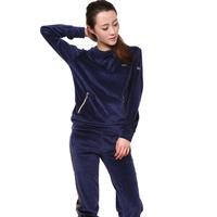 Fashion 2014 women's velvet casual sportswear set fashion women's