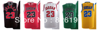 Free shipping Chicago 23 Michael Jordan throwback vintage bullets jersey all star jersey Basketball jersey