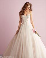 New white/ivory Lace Sweetheart Wedding Dress Custom Size2-4-6-8-10-12-14-16-18