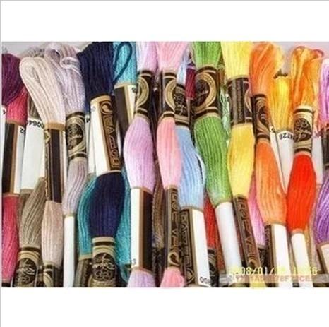 8.7 Yard Embroidery Thread Cross Stitch Thread Floss CXC Similar DMC 1 Lot=50 Piece Top Grade(China (Mainland))