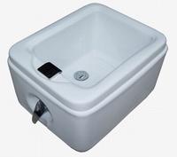 Full acrylic luxury foot bath hot and cold dual-use feet basin bathtub