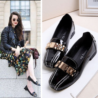 brand name shoes British Style Flats Shoes Comfortable Oxford Soft Outsole Women Shoes Fashion Brand Western Loafer Casual Shoes