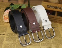 Free shipping fashion men`s belts/PU leather belt for man wholesale 3 COLORS B25