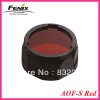 Fenix AOF-S Flashlight Torch Red Filter Night Vision Outdoor Spot Game Adapter Cap Signal For PD35 PD12 UC40
