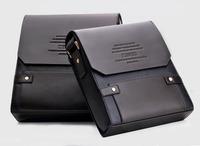 Men Messenger Bags Genuine Leather Dress Briefcase Casual Bolsas Vintage Shoulder Bags Laptop in Travel Portable Document Folder