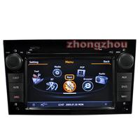 Free Shipping A8 Dual Core Opel Zafira Astra Antara Corsa GPS DVD Audio Player 1GB CPU 512M DDR V-20 3-ZONE RDS BT DVR Opel GPS