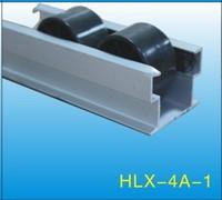 Black ABS/PE Flow Rail/Placon/Roller Track    HLX-Flow Rail-4A-1