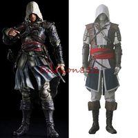 Assassin's Creed IV 4 Black Flag Edward Kenway Costume Cosplay custom made any size