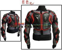 New Men's Motocross New Fashion Black and Red Motorcycle Full Body Armor Jacket M/L/XL/XXL/XXXL Free Shipping