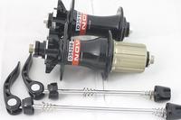 High Quality MTB/Road Bicycle Bike Novatec D351SB D352SB Disc Hubs,For Road Bike,Black,32H,100/130mm Free Shipping