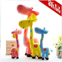 Sika deer plush toy onta doll dolls furnishings decoration day gift