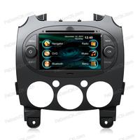 Mazda 2 Autoradio Car Stereo DVD GPS Navigation Multimedia System + Free Rearview Camera