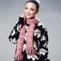 2013 yarn knitted fashion scarf ultra long thickening scarf female spring and autumn scarf muffler