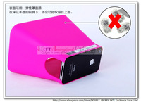 for iPhone 4 4S BigScreen Movie Viewer Concept viewing box with props for smartphone