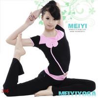 Short-sleeve yoga clothes set women's calisthenics clothes training suit