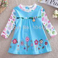 NOVA cartoon children t shirts,fashion toddler baby girls cotton t-shirts,kids colorful long sleeves shirts,12/18M-4/5Y