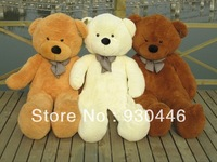 FREE SHIPPING 160CM Three Colors Teddy Bear Coat Lowest Price Huge Stuffed Animal Birthday Gift Chrismas Gifts Children Toys Hot