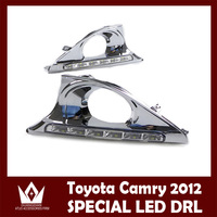 Excellent CAR-Specific TOYOTA Camry 2011-2013 LED DRL LED Daytime Running Light Ultra-bright with Turn indicators