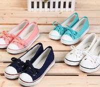 Euro Size 35~39 women's flats ladies canvas sneakers women shoes huanqiu Sports denim jeans