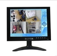 8inch lcd monitor 1024* 768 microscope lcd monitor display  Free shipping
